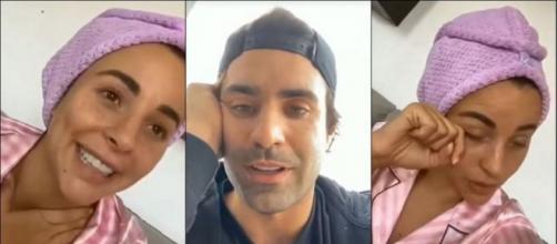 Vincent Queijo et Rym Renom (La Villa des Coeurs Brisés 5) annoncent enfin attendre un bébé. ®Snapchat