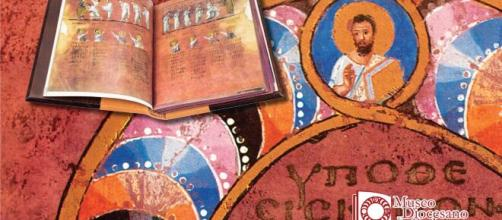 Alcune pagine del Codex Purpureus.