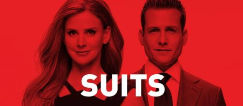 Donna e Harvey são personagens de 'Suits'. (Arquivo Blasting News)