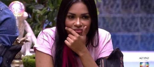 Internautas festejaram a saída da cantora do 'BBB20'. (Reprodução/TV Globo)