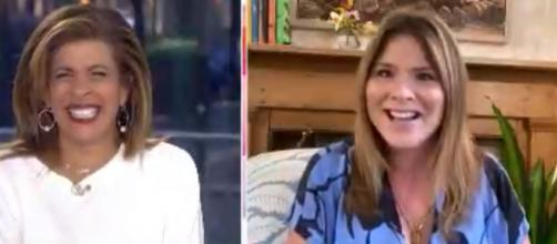 Jenna Bush Hager and Hoda Kotb share their girls' meaningful birthdays during these self-quarantined days. [Image Source: TODAY/YouTube]