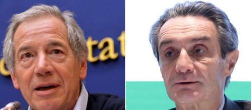 Le Sardine chiedono le dimissioni di Fontana.