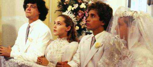 'O Sexo dos Anjos' contou com uma trama bastante elaborada e envolvente. (Reprodução/TV Globo)