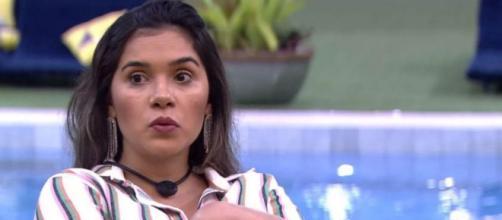 Administradores das redes sociais de Gizelly prometeram um jantar se ela permanecer no 'BBB20'. (Reprodução/TV Globo)