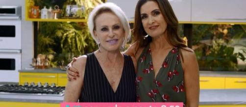 Ana Maria Braga e Fátima Bernardes voltam nas próximas semanas a grade da Globo. (Arquivo Blasting News)