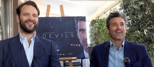 Diavoli, Alessandro Borghi descrive primo incontro con Patrick Dempsey: 'Ero terrorizzato'