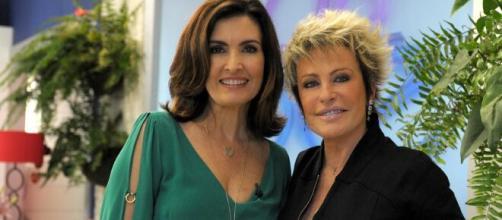 """""""Encontro"""" trará coisa inédita: Ana Maria Braga e Fátima Bernardes juntas em um mesmo programa. (Rede Globo)"""