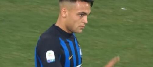 Lautaro Martinez, punta dell'Inter.