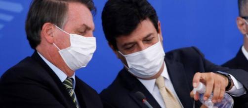 Mandetta perde o apoio de ministros militares e pode ser demitido do Ministério da Saúde. ( Arquivo Blasting News )