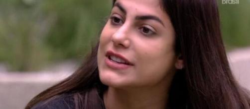Mari desabafa com Rafa após jogo da discórdia. (Reprodução/TV Globo)