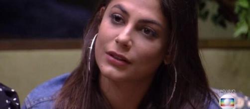 Mari disputa paredão com Babu e Gizelly no 'BBB20'. (Reprodução/TV Globo)