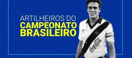 Roberto Dinamite é o principal goleador - com.br