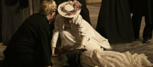 Spoiler Una Vita: Celia cerca di rapire Milagros, ma viene ritrovata senza vita.