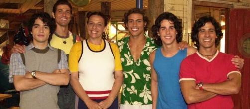 6 atores da novela 'Da Cor do Pecado' 15 anos depois. ( Reprodução/TV Globo )