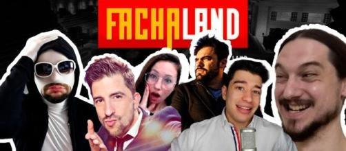 Algunos de los integrantes de Fachaland
