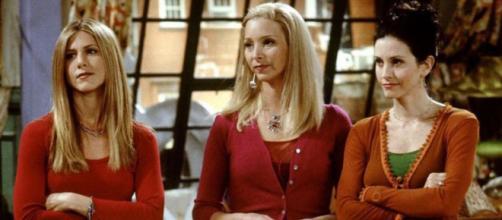 """Elenco de """"Friends"""" e o signo de cada artista. (Reprodução/NBC)"""