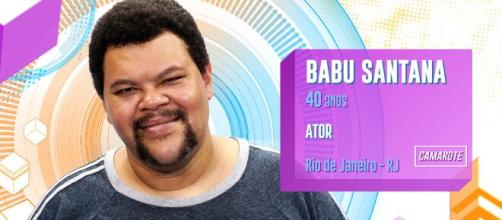 Fatos curiosos sobre Babu Santana. (Reprodução/TV Globo)