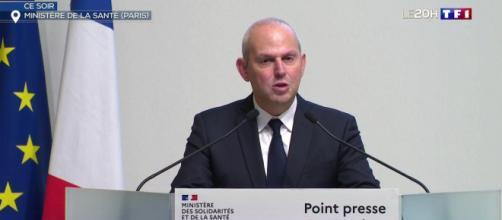Jérôme Salomon, directeur général de la Santé. Credit : TF1 Capture