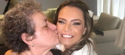 Mãe da atriz Milena Toscano morre em São Paulo. (Reprodução/Instagram/@milenatoscano)