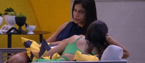Mari conversa com Ivy sobre Manu e Rafa. (Reprodução/TV Globo)