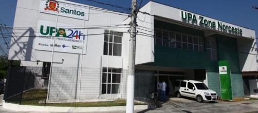 Menina de 2 anos morre depois de receber 'agulhada' no pescoço. (Divulgação/Prefeitura de Santos)