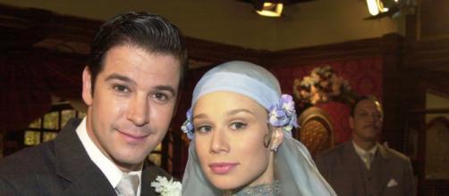 Murilo Benício e Mariana Ximenes protagonizaram a novela 'Chocolate com Pimenta'. (Reprodução: TV Globo)