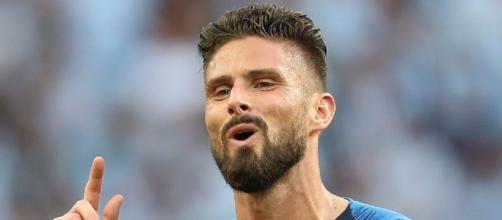Olivier Giroud dovrebbe andare all'Inter in estate a parametro zero.