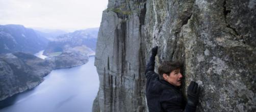 Tom Cruise em cena de 'Missão: Impossível: Efeito Fallout'. (Arquivo Blasting News)