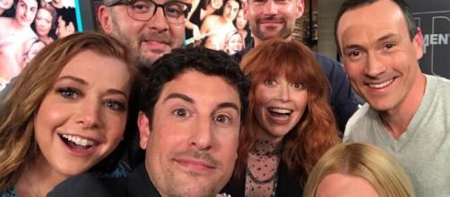 """8 atores do filme """"American Pie"""" atualmente. ( Arquivo Blasting News )"""