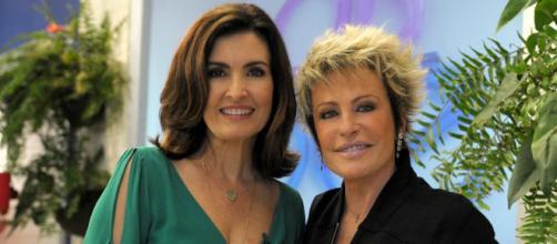 Ana Maria Braga e Fátima Bernardes retornam à tela da Globo. (Reprodução/TV Globo)