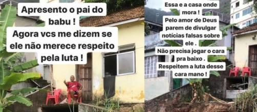 Cantor Micael usou as redes sociais para rebater fake contra Babu. (Reprodução/Instagram/@micael)