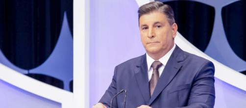 Carlos Nascimento, apresentador do SBT de Silvio Santos. (Reprodução/SBT)