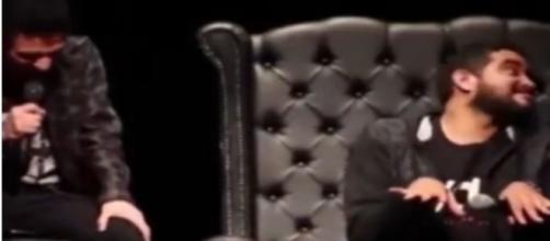 Dihh Lopes e Abner Henrique justificam piadas que ofenderam autistas. (Reprodução/You Tube)