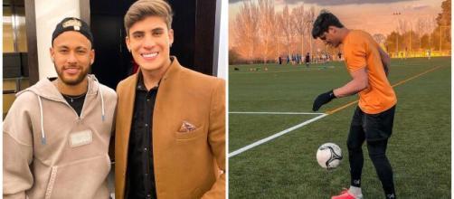El pasado como jugador en el fútbol extremeño de Tiago Ramos, el padrastro de Neymar