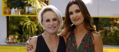 """""""Encontro"""" voltará ao ar com Fátima Bernardes e Ana Maria Braga. (Reprodução/TV Globo)"""