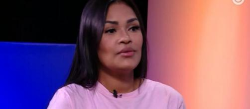 'Eu estava no limite do meu desgaste emocional', explica Flayslane. (Reprodução/TV Globo)