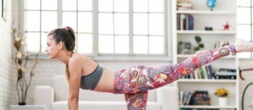 Fitness in casa: un tappetino e consigli utili per restare in forma.