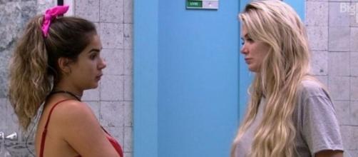 Marcela critica Hadson e Lucas por comemorarem a saída de Gizelly. (Reprodução/TV Globo)