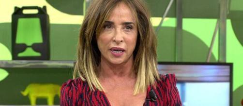 María Patiño en el plató de 'Sálvame' (Telecinco)