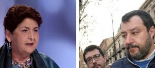 Regolarizzazione migranti clandestini: Salvini contro Bellanova.