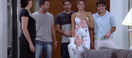 Antenor quer participar do noivado de sua irmã. (Reprodução/TV Globo)