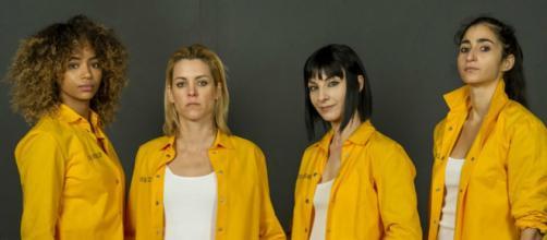 5 personagens que se destacaram na série 'Vis a Vis'. (Reprodução/Netflix)