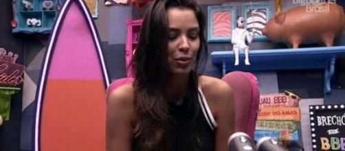 'BBB20': Ivy lamenta que estará no próximo paredão. (Reprodução/TV Globo)