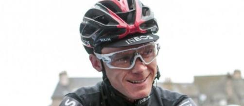 Chris Froome, capitano del Team Ineos.