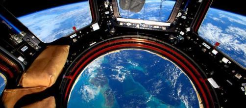 El planeta visto desde la órbita de la Estación Espacial ... - infobae.com