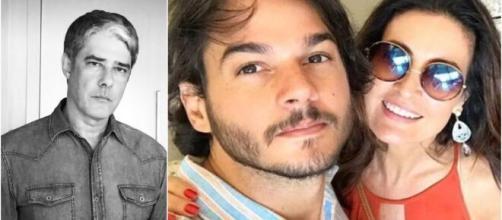 Fátima Bernardes acabou trocando nome de Túlio Gadêlha pelo do seu ex, William Bonner (Arquivo Blasting News)
