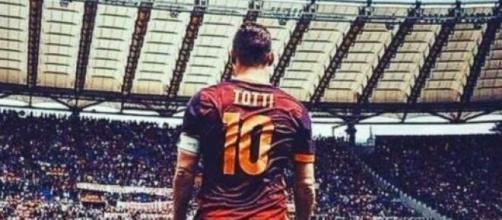 Francesco Totti, ex capitano della Roma.