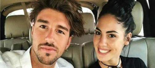 Giulia De Lellis e Andrea Damante insieme in un video su Instagram.