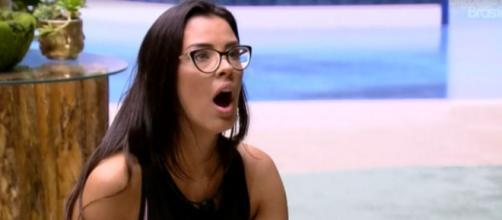 Ivy conversa com Mari no BBB 20. ( Reprodução/TV Globo )