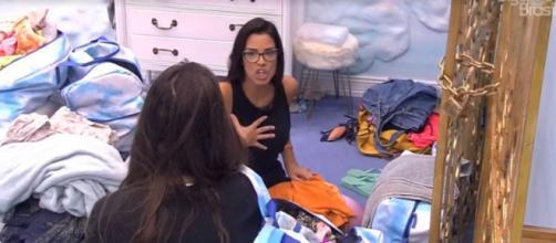 Ivy conversa com Mari no quarto céu. (Reprodução/TV Globo)